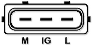 Fotografia produktu MAGNETI MARELLI 063377440010, 102211-6170 ORIGINAL NEW MAGNETI MARELLI